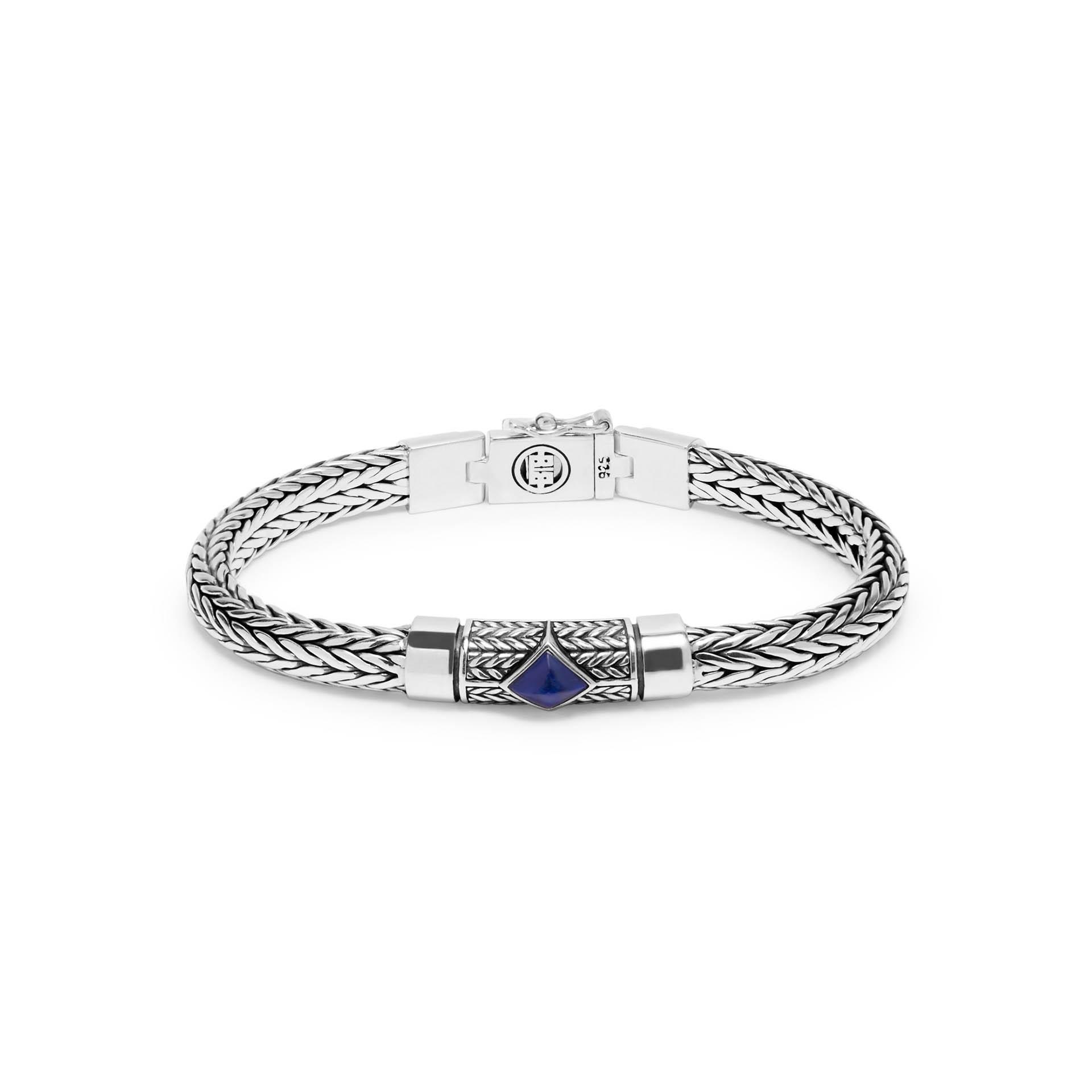 Armband Ellen XS Steen Blauw