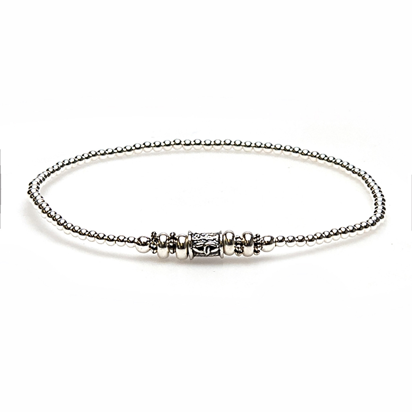 925 STERLING ZILVEREN BALISTYLE ARMBAND 92362