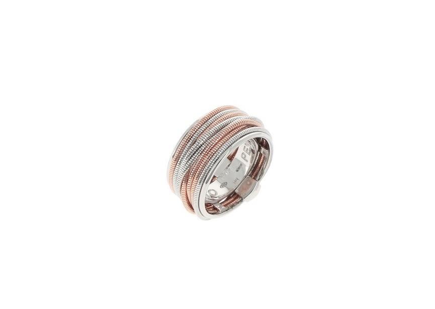 WDNAA175 Pesavento DNA Silver/Rosa Ring