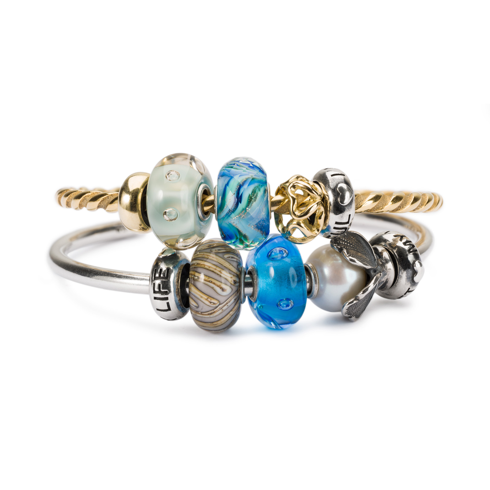 Trollbeads - New Wisdom Bangle Stack