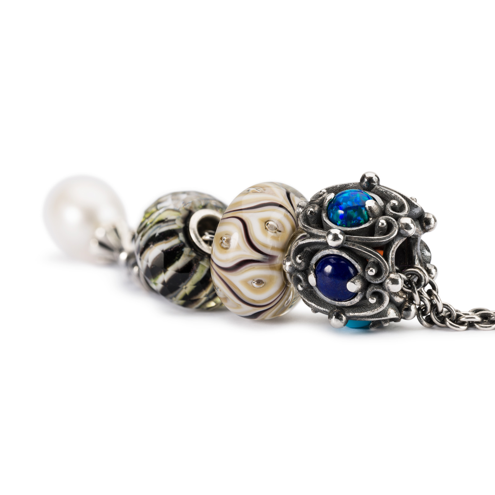 Trollbeads - New Wisdom Fantasy Necklace Close Up