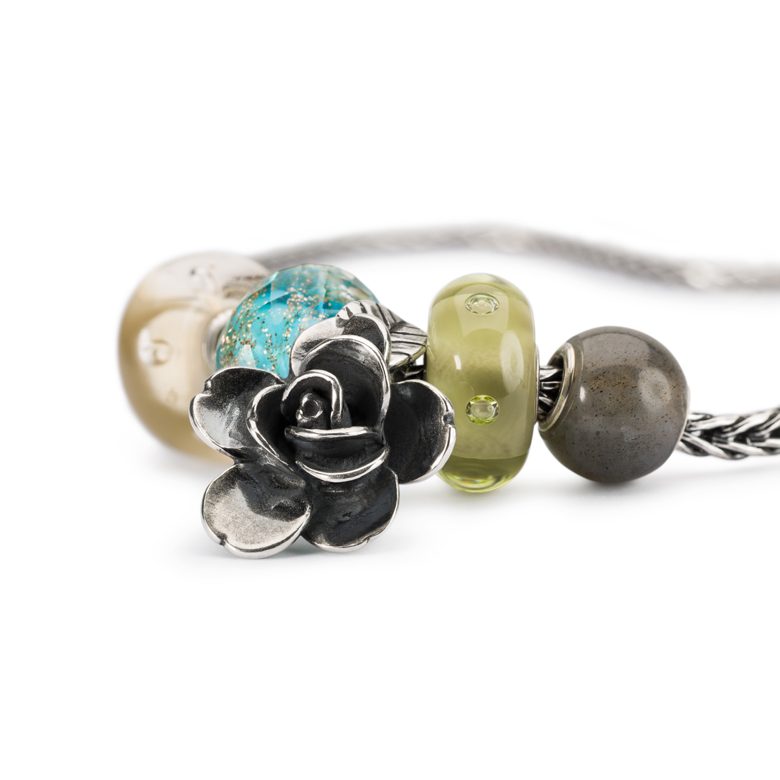 Trollbeads - New Wisdom Necklace Close Up